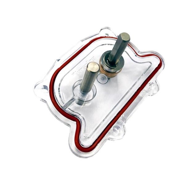 Pumpendeckel für 2-Loch Trichter